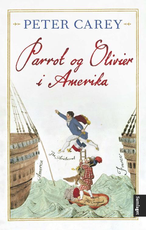 Parrot & Olivier i Amerika_omslag