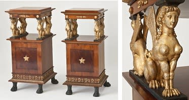 New acquisition: Royal nightstands