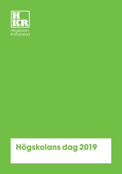 Program Högskolans dag 2019