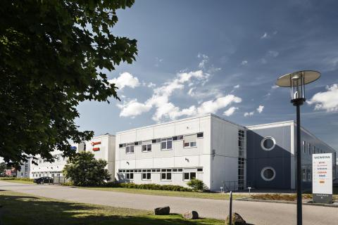 Den gamle Siemensbygning i Taastrup, som nu fremstår helt nyistandsat