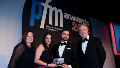Mitie success at the PFM Awards 2016