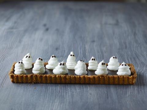 Chokolade Halloweenkage