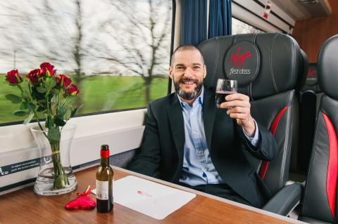 Who will you choo-choo-choose on the Virgin Trains love train?