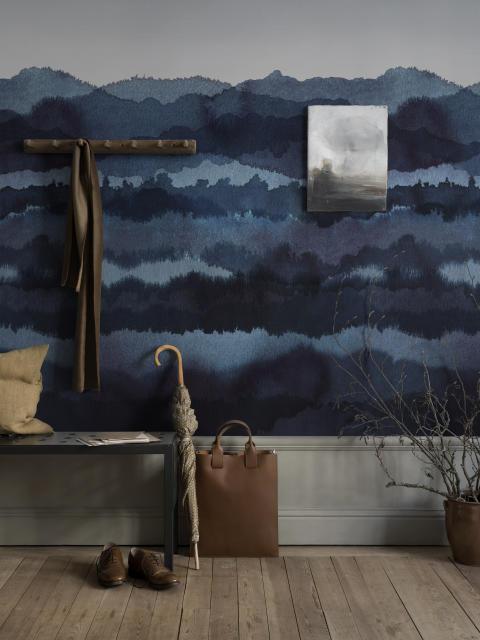 Wallpaper Midnatt 637-04/ design: Karolina Kroon