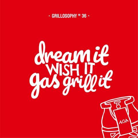 Grillosofier: ny kampanj för AGA:s gasolautomater