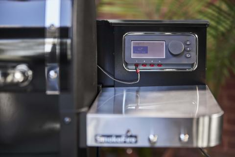 Weber Connect integrert i SmokeFire