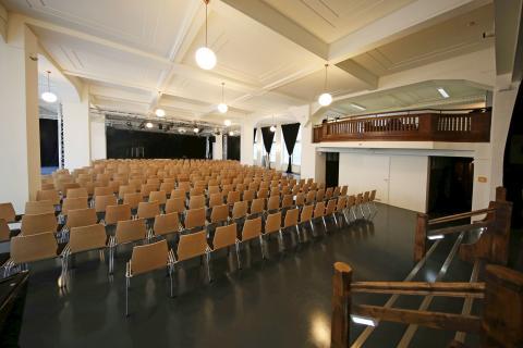 Der Kupfersaal in der Innenstadt bereichert Leipzigs Kulturszene