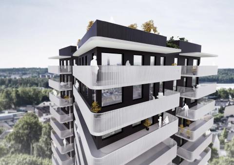 Rekordförsäljning för OBOS på en het bostadsmarknad med nytt rekordår för Kärnhem