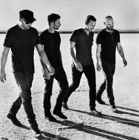 Coldplay slipper treenighet: livealbum, konsertfilm og dokumentar