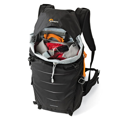 Lowepro Photo Sport II BP200 AW topp med utstyr