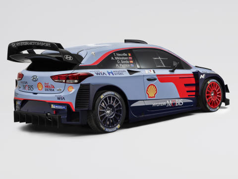 Hyundai Motorsport siktar mot toppen när 2018 FIA World Rally Championship startar i Monte-Carlo