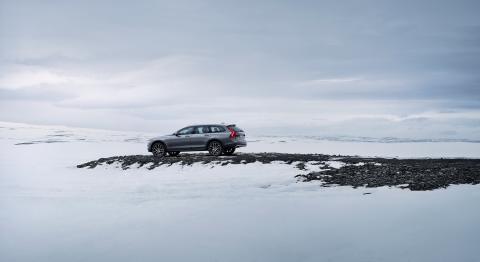 New Volvo V90 Cross Country location