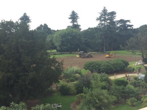 Preparing Grass Courts the Wimbledon Way