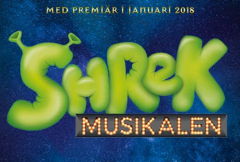 SHREK Musikalen till Malmö och Lund