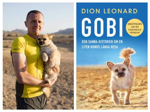 Internationellt bästsäljande boken om Gobi, den sanna historien om en liten hunds långa resa, av ultralöparen Dion Leonard släpps i april!
