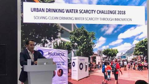 Bluewater says human ingenuity and technology can already help alleviate global urban water scarcity problems