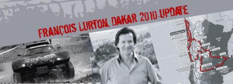 Francois Lurton kör Dakar rallyt 2010