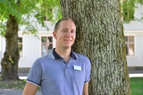Krister Lankinen, beredskapssamordnare.