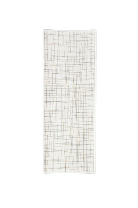 R_Mesh_Line Walnut_Platter flat 34 x 13 cm
