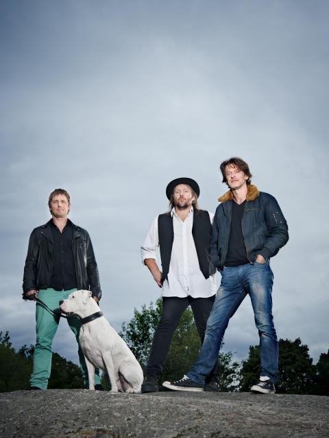 Bandet Hundarna i UR:s dokumentärserie Jonas löfte