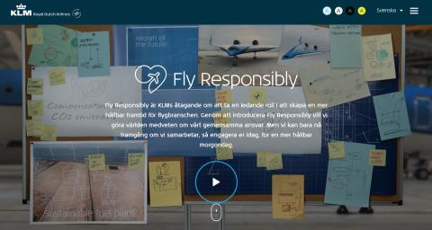 Initiativet 'Fly Responsibly' ska ena flygbranschen