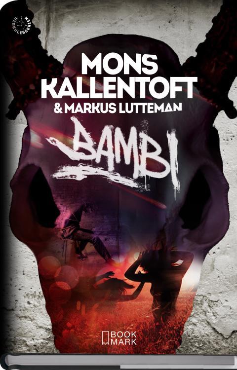 Bambi av Mons Kallentoft och Markus Lutteman 3D snedställd