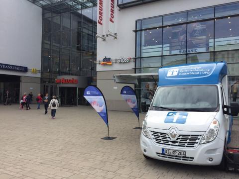 Beratungsmobil der Unabhängigen Patientenberatung kommt am 31. Mai nach Kempten.