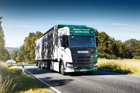 Green Truck 2018 auch zum Mieten - Scania R 500