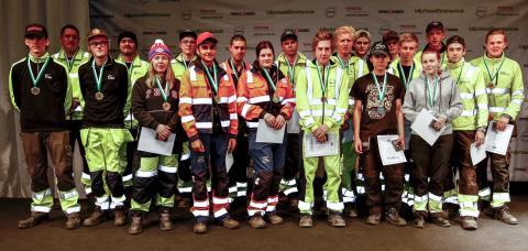 Samtliga deltagare i Eskilstuna