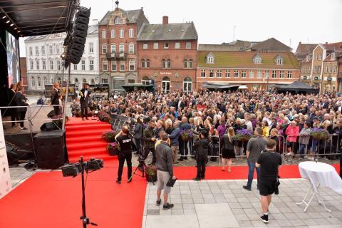 Prisfest i Svendborg