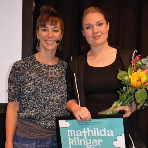 Plåtambassadör vinner Isabellestipendiet 2018