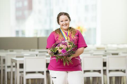 Fanny vann guld vid Yrkes-SM!