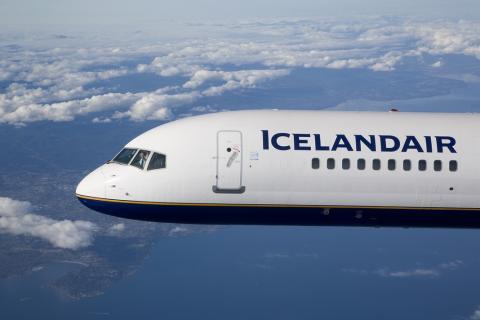 Icelandair begynder 2014 som 2013 sluttede.
