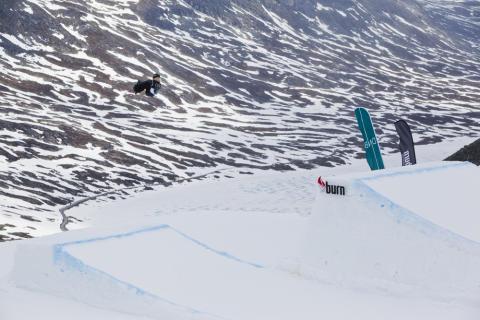 Håkon Kjøll Eilertsen. Foto: Snowboardforbundet