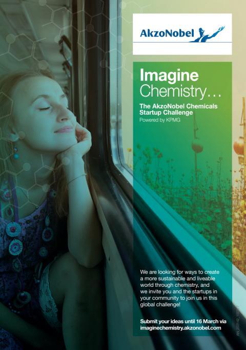 Imagine Chemistry: AkzoNobel startet Wettbewerb für globale Start-up-Unternehmen im Chemiesektor