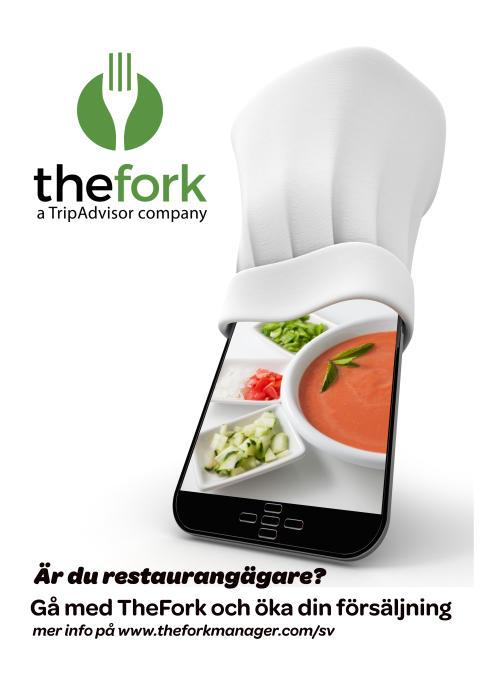 Tripadvisor /TheFork bjuder in över 100 krögare till ett evenemang i Göteborg!