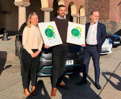 Kia e-Niro utsedd till Miljöbästa Bil 2019
