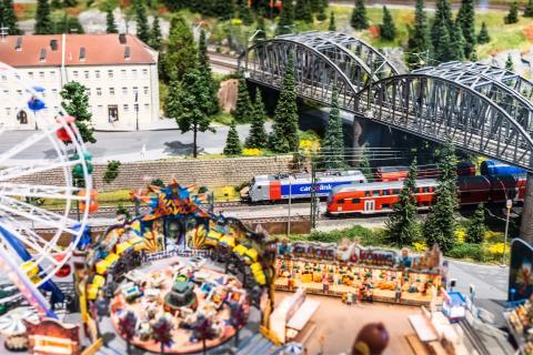 Ny modelljernbane på Teknisk museum