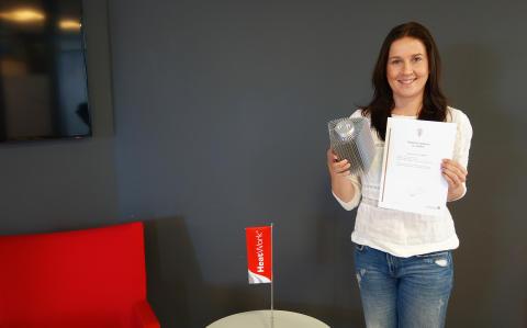 Kristin Markussen, markedsansvarlig i Heatwork