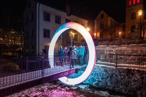 Spektakulära ljusinstallationer och konstverk – Norrköping Light Festival är tillbaka!