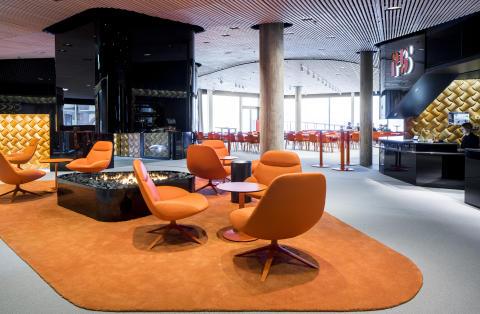 Lobbyn på P5