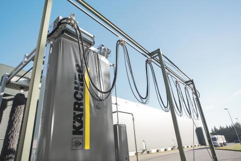 Kärcher buss- och lastbilstvätt - innovativ automattvätt i världsklass