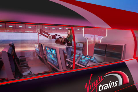 Six children from across the UK were selected as winners of the Virgin Trains #Azuma4kids competition.