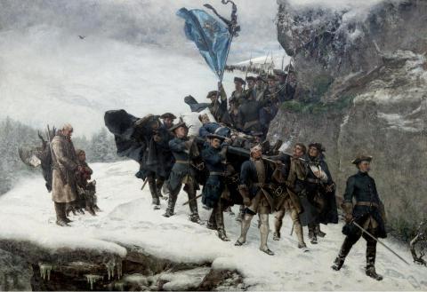 Bilden av svensken. Från historiemåleri till mångkultur