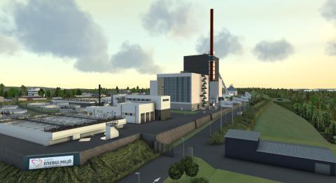 Utökning av investeringsram för projektet Energi- och miljöcenter i Borås