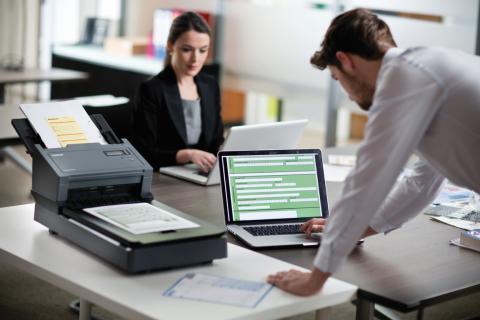 Brother prezintă gama de scanere profesionale de mare volum