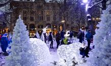Juljazz, julhjälp, julkortsverkstad och vildmarksliv i Malmö city