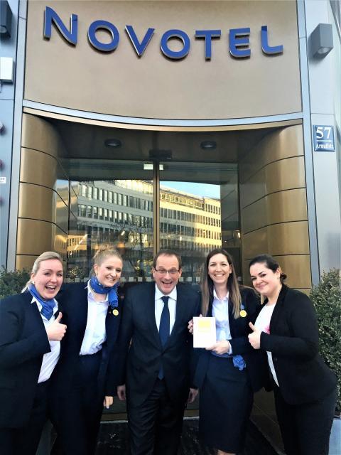 Das Novotel München City Arnulfpark erhält das Gold-Zertifikat der Deutschen Gesellschaft für nachhaltiges Bauen (DGNB).