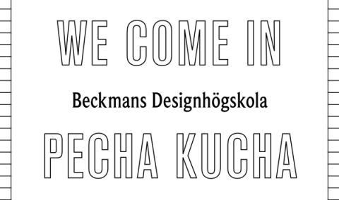 PechaKucha på Beckmans