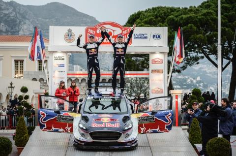 Den nye Fiesta WRC vinder Rallye Monte-Carlo